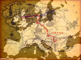 The Shire Map Mapping Europe And The Usa Over Tolkiens U0027 Middle Earth