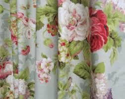 Cottage Style Curtains And Drapes Shabby Chic Curtains Cottage Style Decor Custom Rod Pocket