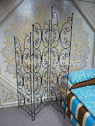 Moroccan Room Divider Wrought Iron Moroccan Screens