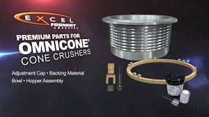 omnicone crusher parts youtube