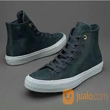 sepatu converse ct ii hi craft leather grey original jakarta barat