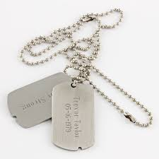 customized dog tag necklace 005348 style dog tags things engraved