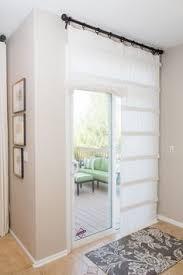 Panel Blinds For Sliding Glass Doors Curtain For Kitchen Sliding Door White Linen Sonoma Goods For