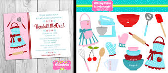 kitchen bridal shower clipart 33
