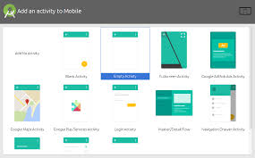 android activity android add a new activity class xml premade in project