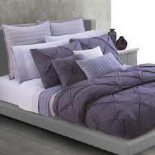 West Elm Pintuck Duvet Cover Bedroom Best White And Purple Pintuck Duvet Cover And Pillow With