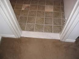 Where Do You Stop The Tile In The Doorway Ceramic Tile Advice - Bathroom door threshold 2