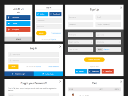 free web form templates download amber forms lite kit sketch freebie download free resource for