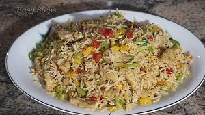 chicken fried rice restaurant style chicken fried rice recipe
