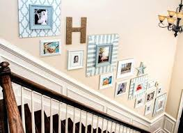 Staircase Wall Decorating Ideas Pictures On Stair Wall Creative Staircase Wall Decorating Ideas