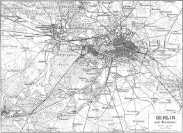 Maps Germany by Berlin Map
