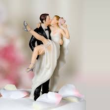 over the threshold u201d wedding bride and groom cake topper figurine