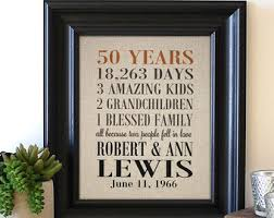golden anniversary gift ideas special gift for parents 50th wedding anniversary lading for