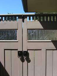 zen garden featuring custom double gate with bamboo glass u2013 click
