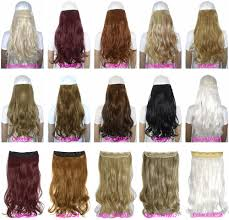 hair clip rambut 24 60 cm 120g tubuh wave 5 klip pada sepotong rambut klip di