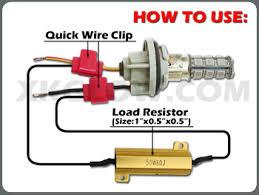 load resistors for led lights 50w 6ohm led load resistors for led turn signal lights or led