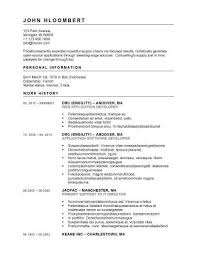 Resume Templates For Openoffice Free Download 8 Free Openoffice Resume Templates Ott Format