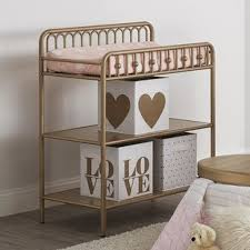 Iron Changing Table Gold Changing Tables You Ll Wayfair