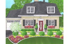 Curb Appeal Front Entrance - curb appeal from summer cottage to stately presence