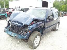 2003 blue jeep liberty 2003 jeep liberty sport 3 7l blue