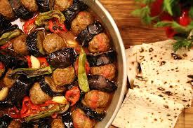 cuisine kebab urfa kebab fried eggplants and meatballs armenian cuisine
