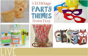 party themes for 5 etsy party themes for your echoage party everythingmom