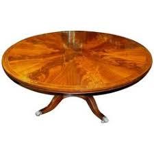 Mahogany Dining Table Custom Regency Style Circular Mahogany Dining Table For Sale At