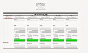 daily lesson log format english filipino language filesishare high