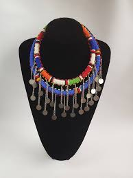african jewelry necklace set images African jewelry masai wedding jewelry ethnic jewelry etsy jpg
