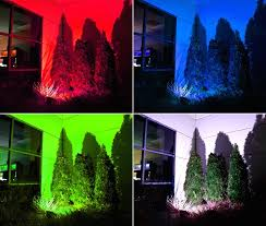 Led Low Voltage Landscape Light Bulbs - colored landscape light bulb with led lighting colors installation