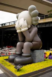 thanksgiving mickey mouse kaws brings his u0027companion u0027 over for thanksgiving observer