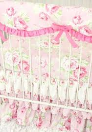Shabby Chic Crib Bedding Sets by Floral Baby Bedding Pink Desert Rose Crib Collection Baby