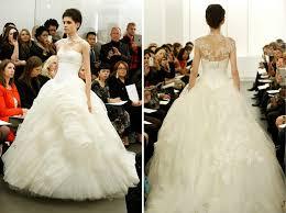 designer wedding dresses vera wang wedding dress vera wang 2013 designs and trends weddbook