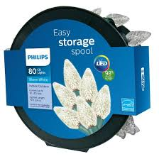 philips 80ct led c9 faceted string lights warm white target