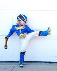 kids blue power ranger costume costume model ideas