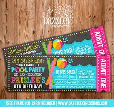 doc 7001002 party ticket invitations u2013 art party ticket