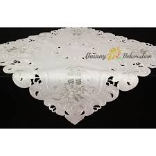 gold christmas table runner christmas table runner topper doily tablecloth white silver candle
