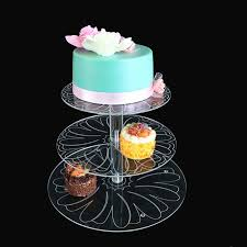 cupcake and cake stand aliexpress buy new acrylic 3 4 tier cupcake cake stand