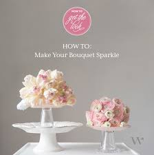 How To Make A Bridal Bouquet Diy Wedding Wednesday Bling Bridal Bouquets The Details