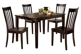 Hyland Dining Room Table And Chairs Set Of  Ashley Furniture - Dining room table