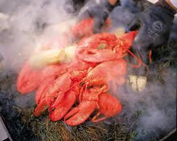 how to do a lobster bake the traditional maine way