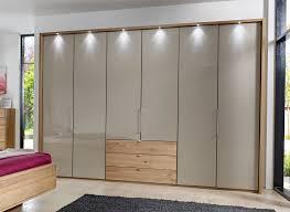 glass mirror wardrobe doors stylform selene 250cm solid oak u0026 glass wardrobe head2bed uk