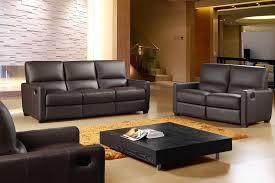 Leather Recliner Sofa Set Deals Magnificent Amazing Reclining Leather Sofa Sets 641 Italian 3