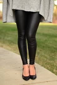 Real Leather Leggings The New Spanx Faux Leather Leggings Our Fashion Obsession Faux