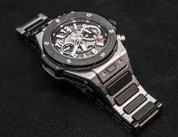 hublot ceramic bracelet images Hublot big bang unico watch with bracelet hands on ablogtowatch jpg