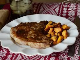 instant pot honey pork chops once a month meals