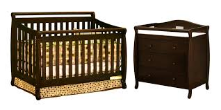 Espresso Convertible Cribs by Furniture U0026 Rug Dazzling Davinci Kalani Dresser For Nursery