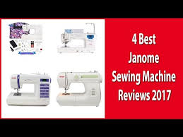 4 best janome sewing machine reviews 2017 compact sewing machine