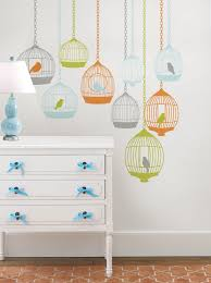 back school decorating ideas poptalk vintage mod birdcage wall decals for dorm room decor idea