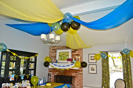 Bday Decoration At Home Awesome Superman Birthday Party Centerpieces Birthday Ideas